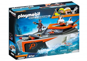 Playmobil Spy Team Turboship | 70002