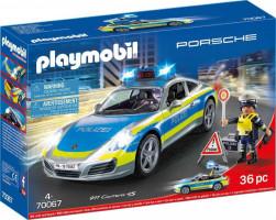 Playmobil Porsche 911 Carrera 4S Policie | 70067