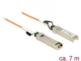 Delock Cable AOC SFP+ male > male 7 m