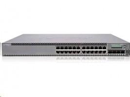 EX3300 - 24-port 10/100/1000BaseT (24-ports PoE+) s 4 SFP+ 1/10G uplink ports