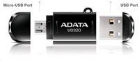 ADATA Flash Disk 64GB USB 2.0 DashDrive Durable UD320 OTG (micro USB adaptér)