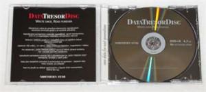 Média DVD+R DataTresorDisc 4,7GB, 4x, 1ks jewelbox