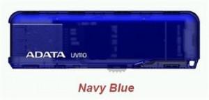 ADATA Flash Disk 16GB USB 2.0 DashDrive UV110, modrý (AUV110-16G-RBL)