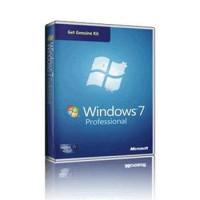 MS OEM GGK-Windows Pro 7 SP1 32-bit/64-bit English Legalization DSP OEI DVD