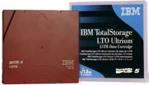 IBM Ultrium LTO6 2,5/6,25TB data cartridge 1ks WORM