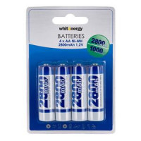 WE Nabíjecí baterie AA 2800mAh Ni-MH 4ks (08401)