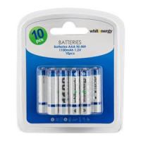 WE Nabíjecí baterie AAA 1100mAh Ni-MH 10ks-blister (06778-BL)