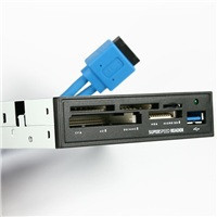 "AXAGO interní 3.5""USB 3.0 5-slot čtečka ALL-IN-ONE"