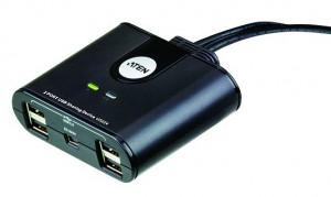 ATEN USB 2.0 Přepínač periferií 2:4 US-224