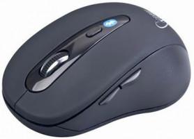 Gembird myš MUSWB2 Bluetooth, USB, černá