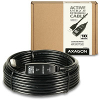 AXAGON USB2.0 aktivní prodlužka/repeater kabel 10m (ADR-210)