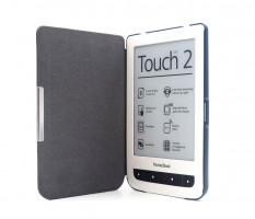 C-TECH PROTECT pouzdro pro Pocketbook 624/626, hardcover, PBC-03, modré (PBC-03BL)