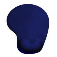 4World Gelová podložka pod myš, modrá