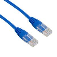 4World Síťový kabel RJ45 s krytkou, Cat. 5e UTP, 1.8m, Modrý