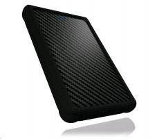 """Icy Box External 2,5"""" HDD/SSD case SATA, USB 3.0, ochranný obal, černá"""