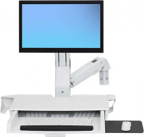 ERGOTRON2s STYLEVIEW SIT-STAND COMBO ARM