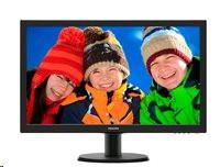 "Monitor Philips V-line 243V5LSB/00, 23.6"" LED Full HD, DVI, EPEAT Silver, ES 6."