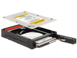 """Delock 3.5"""" výměnný rámeček pro 1 x 2.5"""" SATA HDD / SSD"""