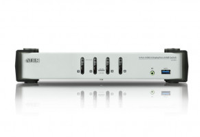 ATEN 4-Port USB 3.0 DisplayPort KVMP Switch