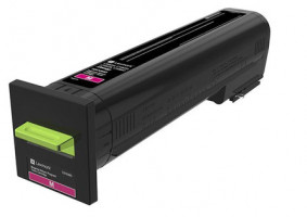 CS820, CX82x, CX860 Magenta Return Programme Toner Cartridge - 8 000 stran, 72K20M0