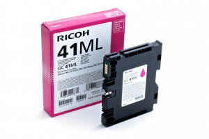 Ink Cartridge Ricoh GC41 magenta LC