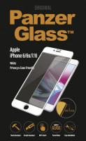 PanzerGlass Apple iPhone 6/6s/7/8, Case Friendly Privacy, white