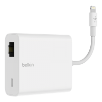 Belkin Ethernet + Power adaptér s Lightning Connector B2B165bt