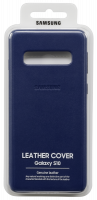 Samsung Leather Cover Navy Galaxy S10