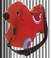 BIG Bobby Wheeled Gear Bag červená