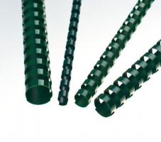 Plastové hřbety 12,5 zelené