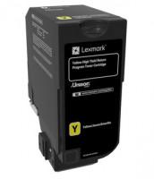 CX725 Yellow High Yield Return Programme Toner Cartridge - 16 000 stran, 84C2HY0