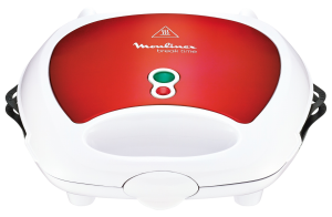 Moulinex SW6125 3in1 Sendvičovač červená barva