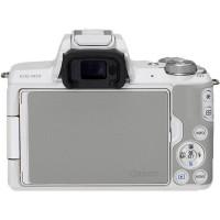 Canon EOS M50 pouzdro Systemkamera weiß + EF-M 15-45 S