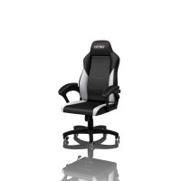 Nitro Concepts C100 Gaming židle - černá/bílá