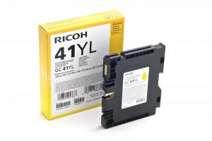 Ink Cartridge Ricoh GC41 yellow LC