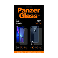 PanzerGlass Apple iPhone XR, black + Clear Case