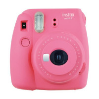 Fujifilm Instax Mini 9 růžový + etui i wkład 1pack
