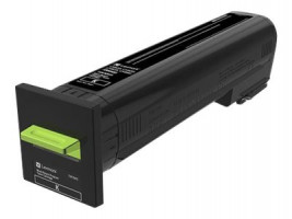 CS820, CX82x, CX860 Black Return Programme Toner Cartridge - 8 000 stran (72K20K0)