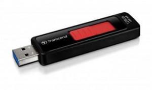 Transcend 128GB JetFlash 760, USB 3.0 flash disk, černo/červený (TS128GJF760)