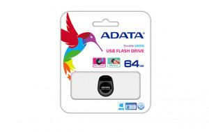 ADATA Flash Disk 64GB USB 2.0 DashDrive™ Durable UD310, černý