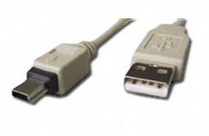 Gembird USB 2.0 kabel A-mini B