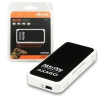 AXAGO - CRE-X1 externí MINI čtečka 5-slot ALL-IN-ONE