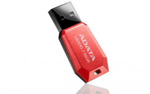 ADATA Flash Disk 16GB USB 2.0 DashDrive UV100, červený