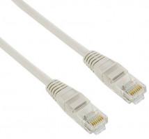 4World Síťový kabel RJ45 s krytkou, Cat. 5e UTP, 15m, Šedý