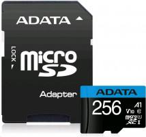 ADATA SDHC Class 10 256GB AUSDX256GUICL10A1-RA1