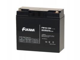 akumulátor FUKAWA FW 18-12 U (12V; 18Ah; závit M5; životnost 5let)