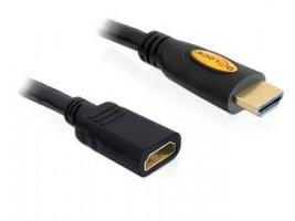 Delock Prodlužovací kabel vysokorychlostní HDMI s Ethernetem samec/samice 5 m (83082)