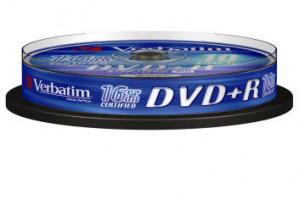 DVD+R 16x Verbatim AZO 4.7GB 10pack (023942434986)