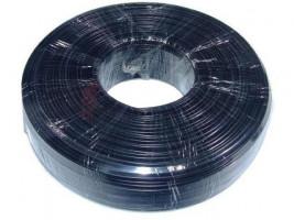 Gembird telefonní kabel 6 žil. 100m, černý (TC1000S6-100M-B)
