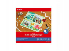 Canon MP-101 D 12x12 , 30 Sheets Double sided Matte Paper, 240 g